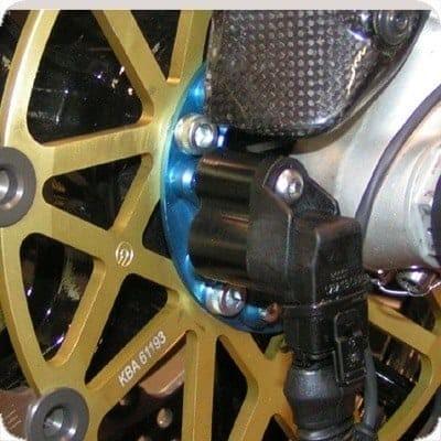 Capteur de roue avant et platine 10 Pions
