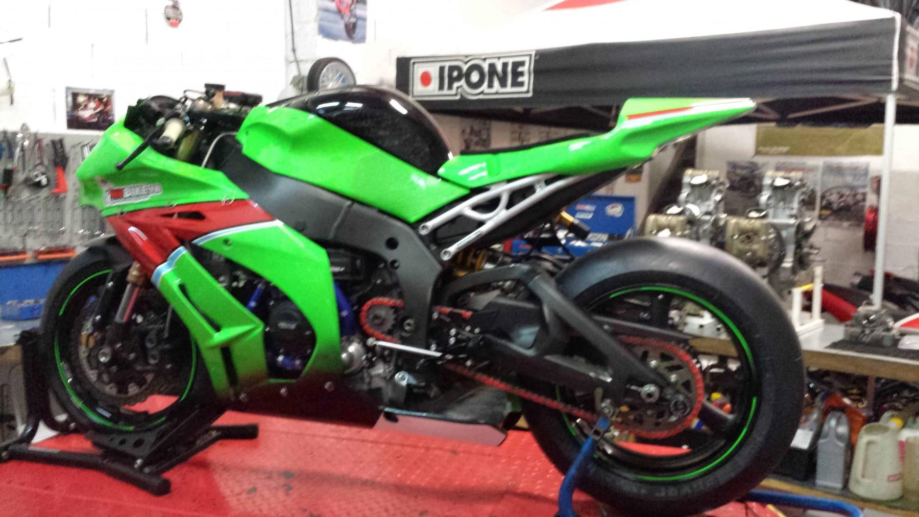Boucle arrière MOTOHOLDERS pour HONDA  CBR1000 RR 2008>2015