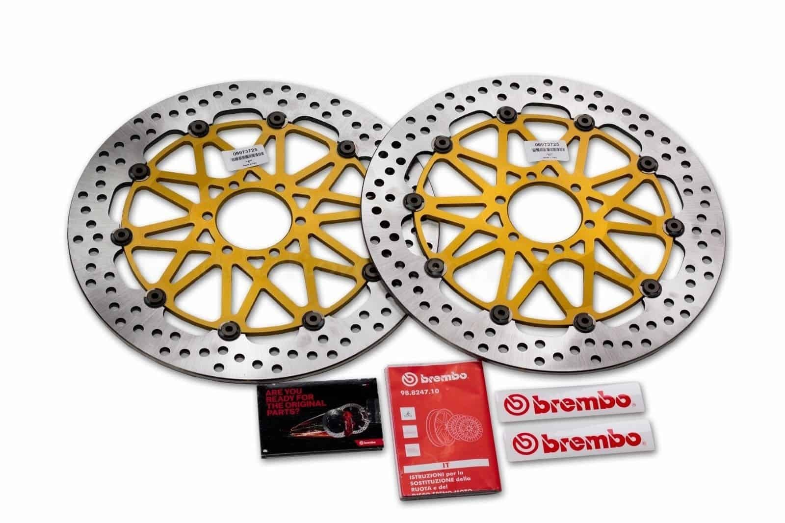 PACK 2 DISQUES BREMBO SUPERSPORT 320MM HONDA CBR1000RR 2017>