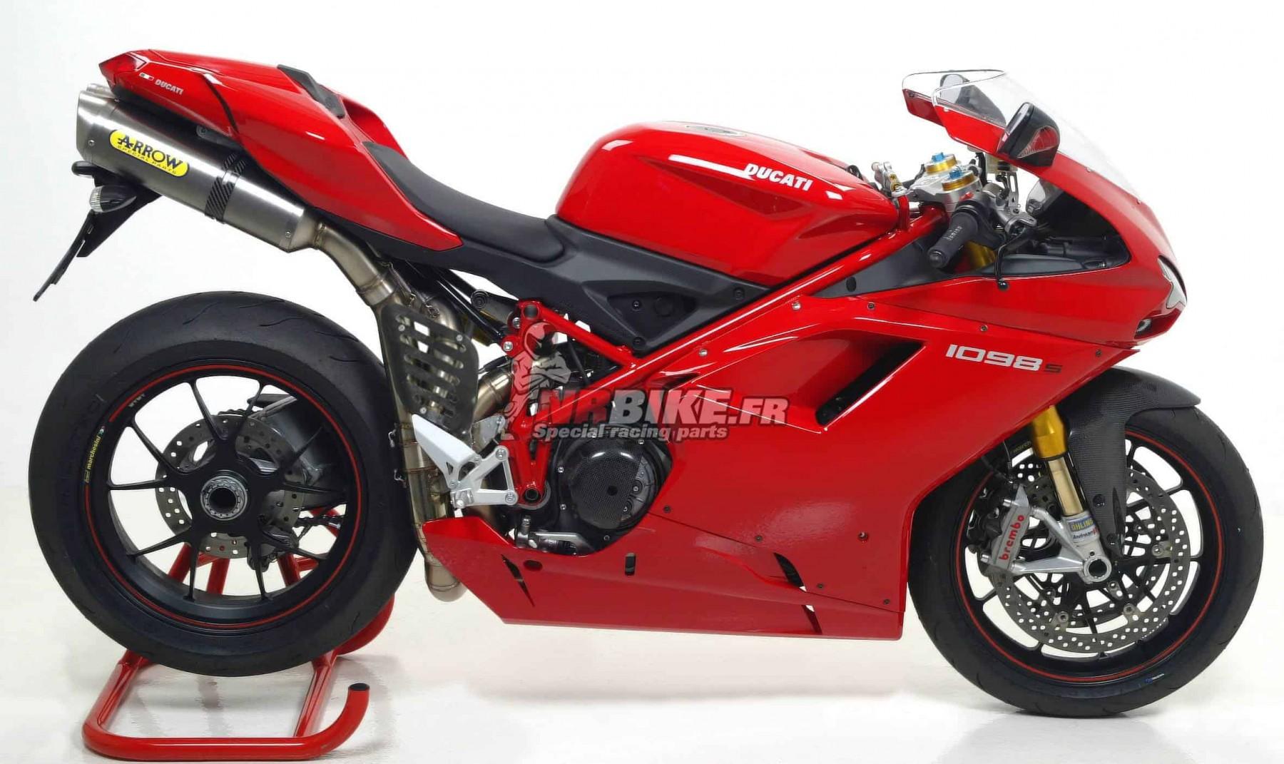 Ligne complète Arrow Competition Ducati 1098 - 1098S
