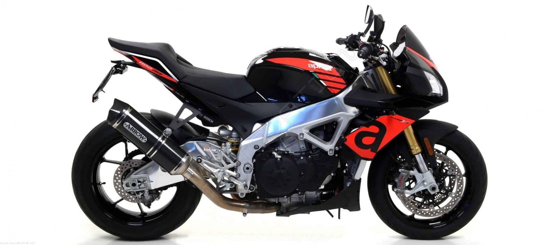 DEMI-LIGNE ARROW APRILIA TUONO V4 1100 RR / FACTORY  2015>2018