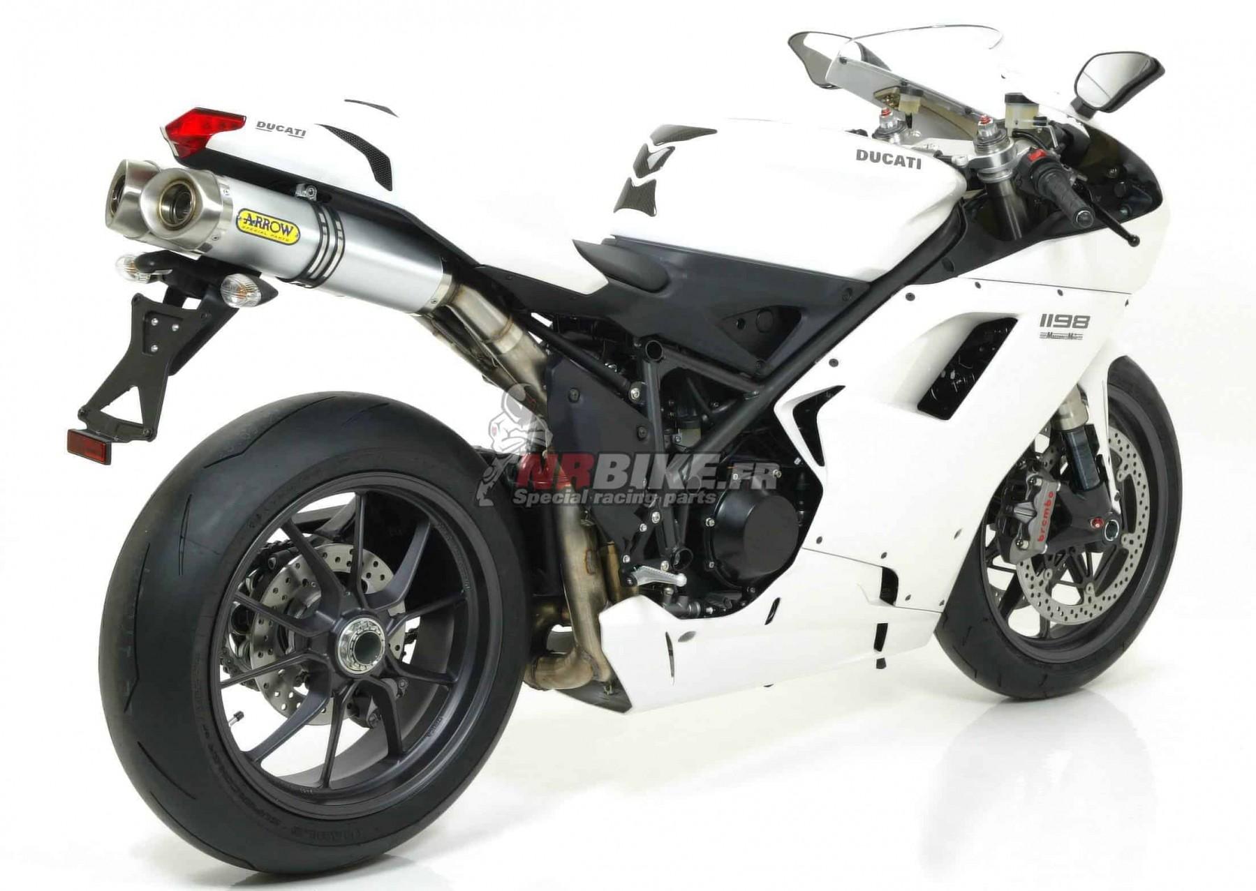 Ligne complète Arrow Competition Ducati 1198