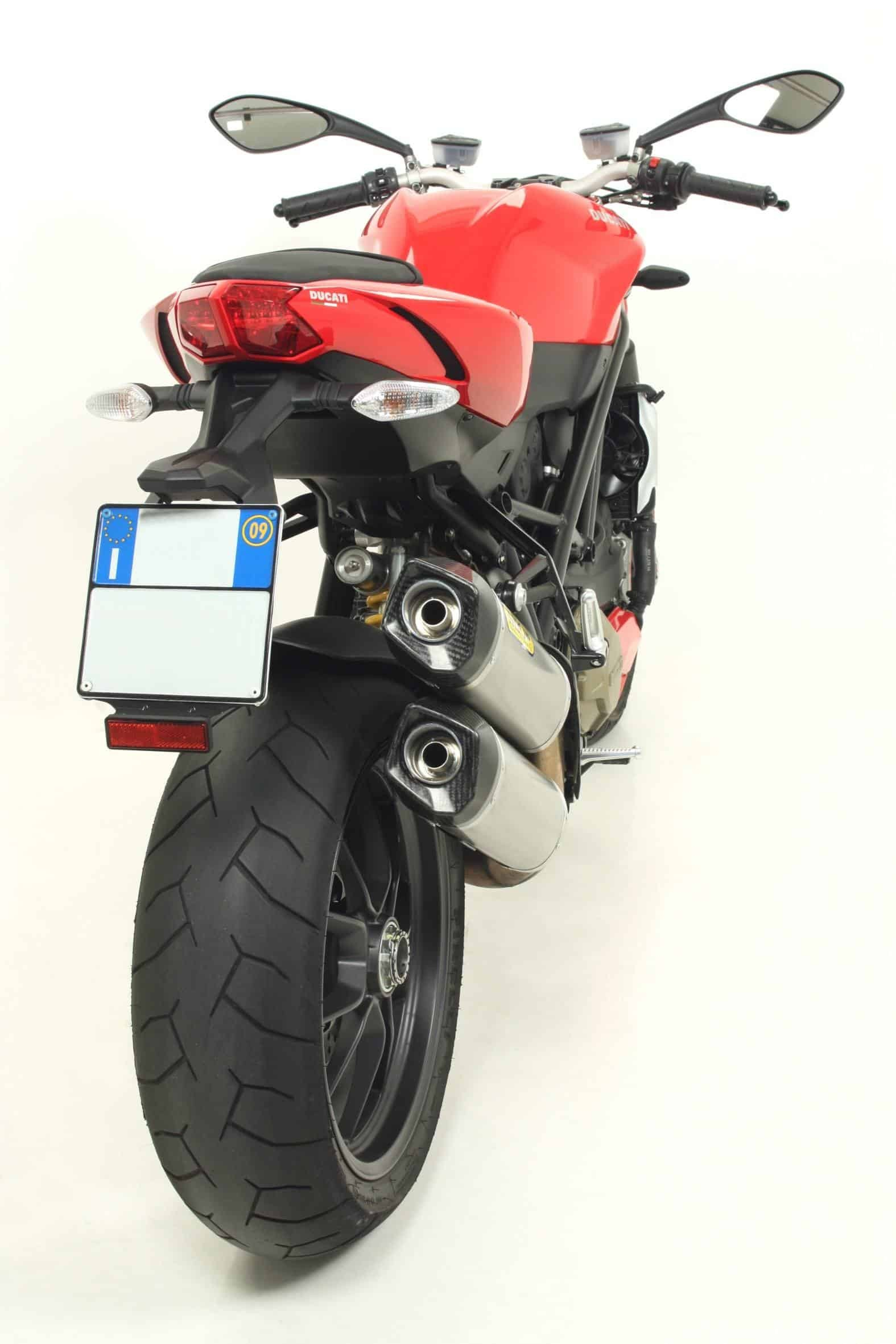 Silencieux Arrow Race Tech Ducati Streetfighter 1098
