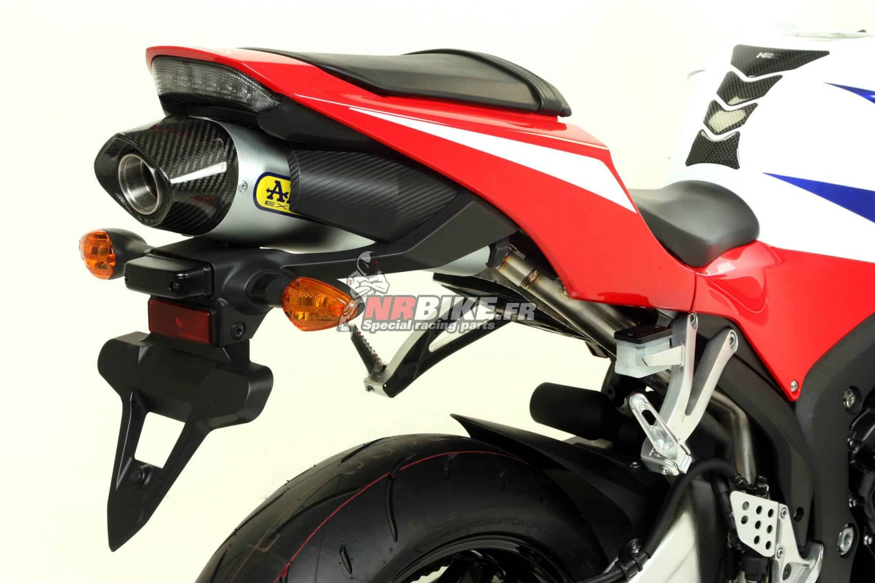 silencieux Indy Race embout Carbone Honda CBR600RR