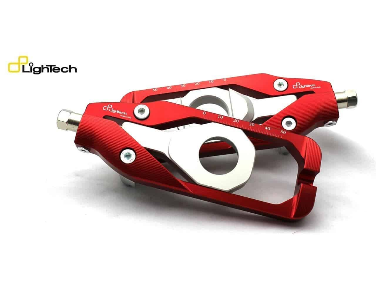 Tendeur Chaine Lightech Aprilia RSV4 1000 1100 rouge