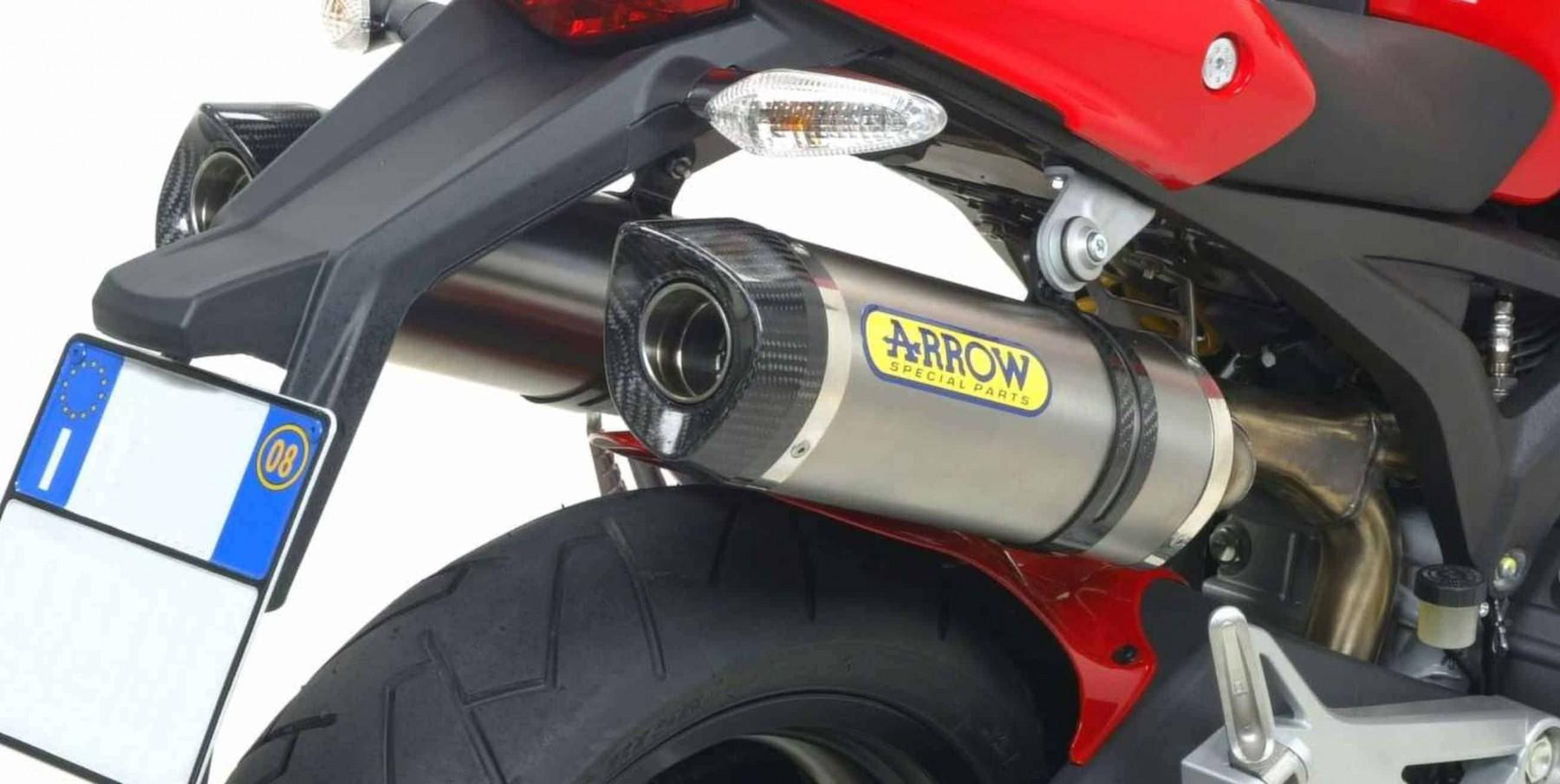 Silencieux Arrow Street Thunder Ducati Monster 1100