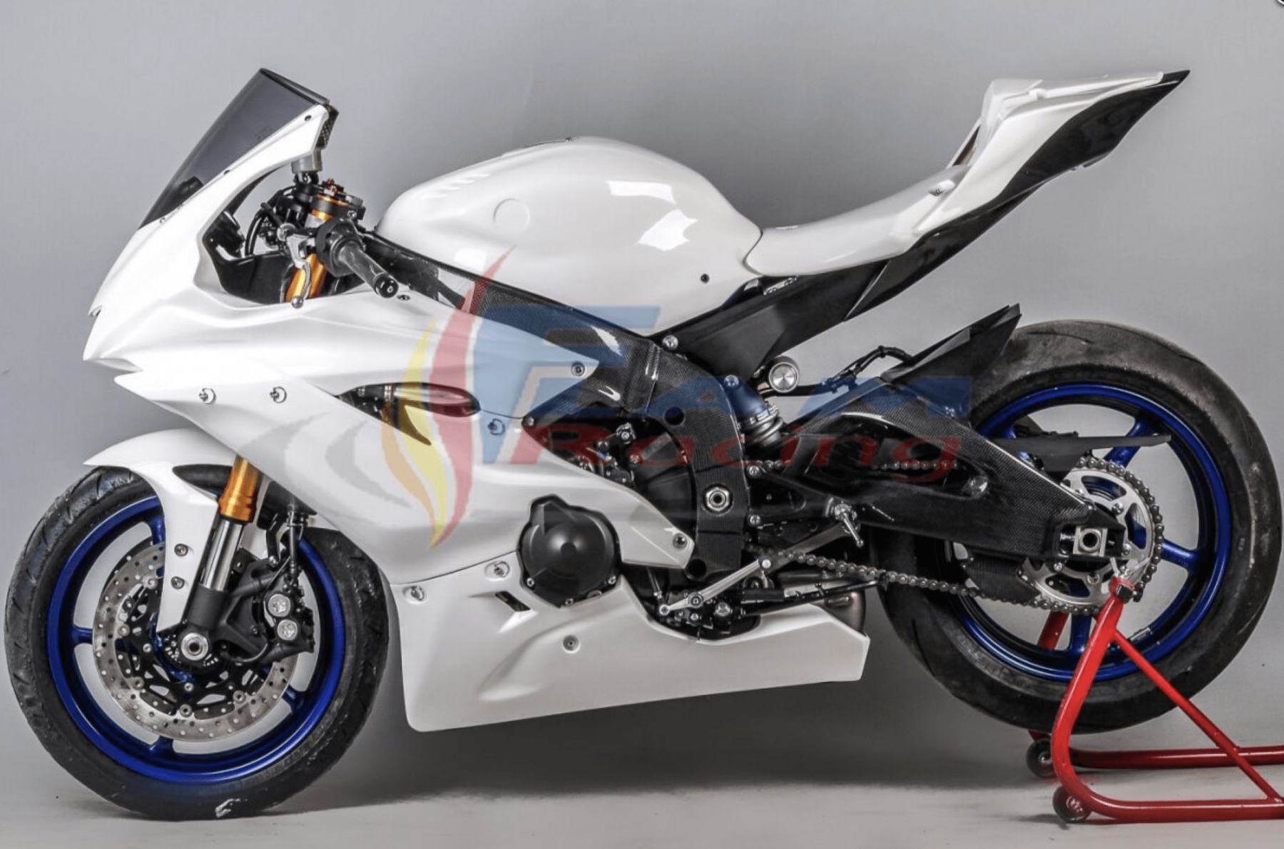 Carénage kit poly course complet Yamaha R6