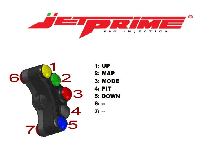 COMMODO RACING GAUCHE JETPRIME YFZ-R1 2015>2019 (PLSR003)