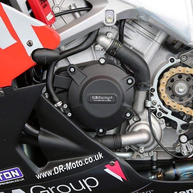 Protection de carter d'alternateur GB Racing pour RSV4 / TUONO V4  2010>2018