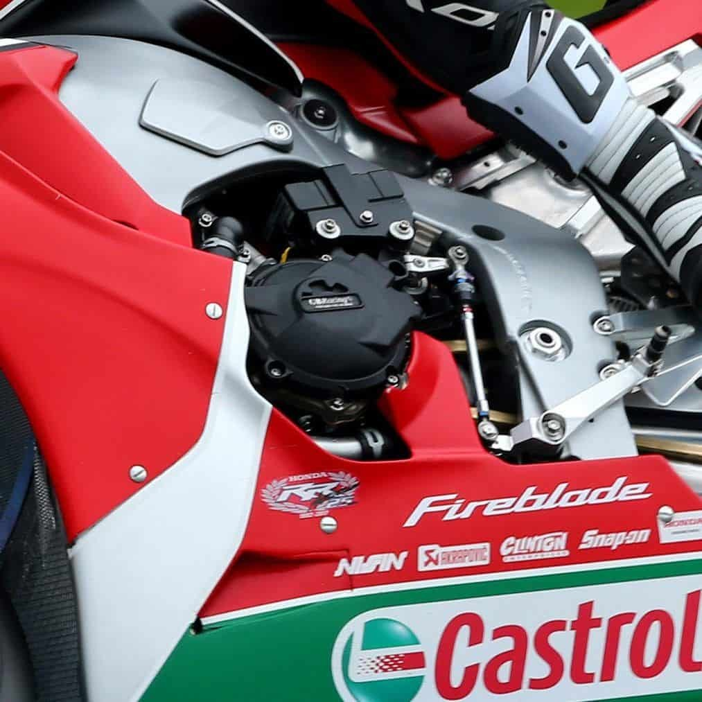 Protection de carter d'alternateur GB Racing pour HONDA CBR1000RR  2017