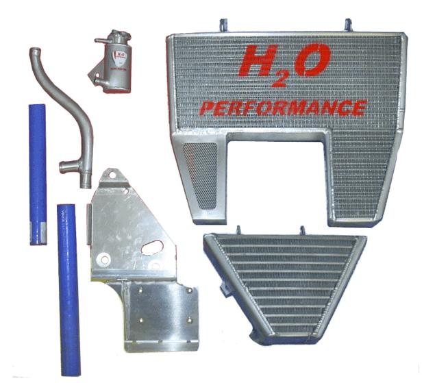 Radiateur H2O Eau + Huile Ducati 848 / 1098 / 1198