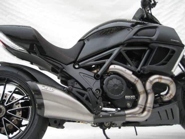 Ligne Zard Inox Ducati Diavel