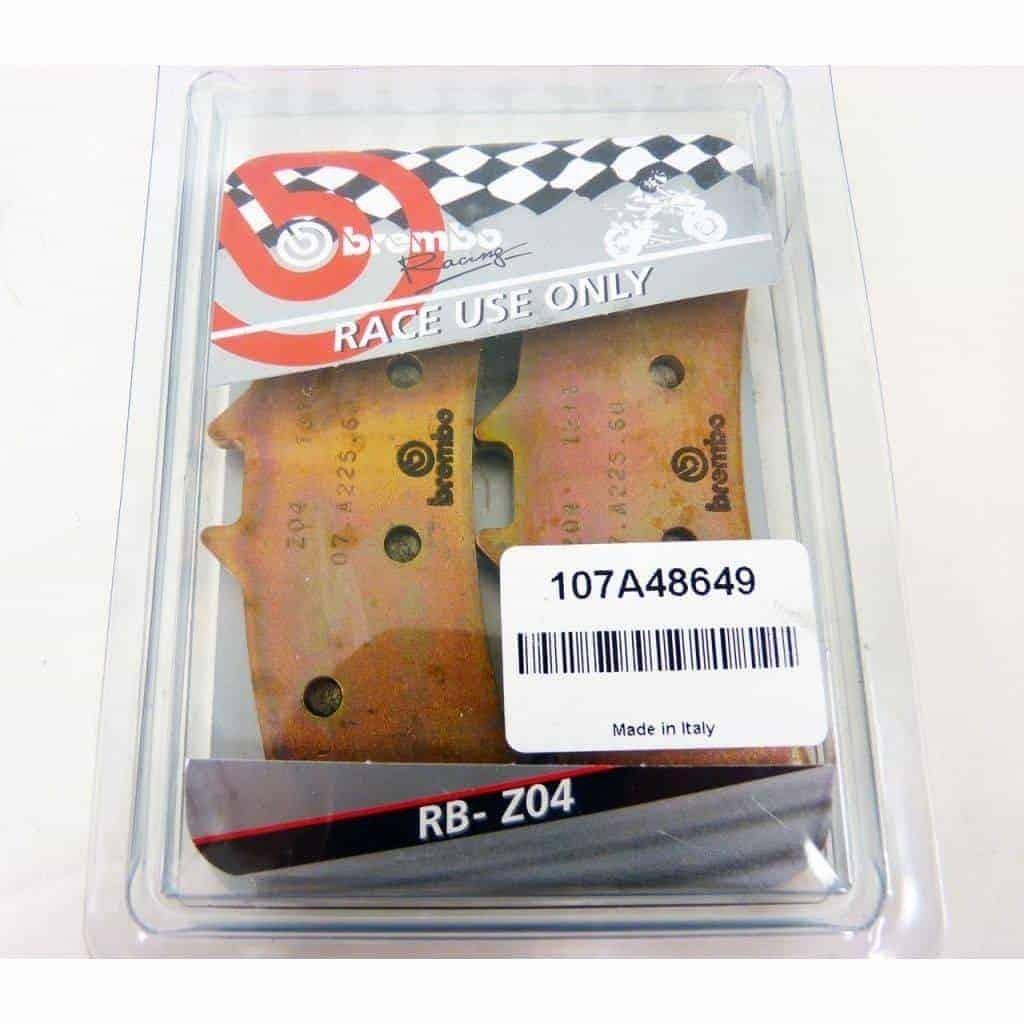 Plaquettes de frein avant Brembo Racing Z04