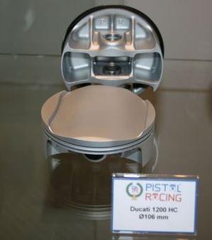 PAIRE DE PISTON PISTAL-RACING HC 1000 2 SOUPAPES