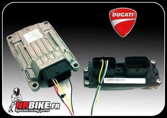Préparation boitier ECU Ducati