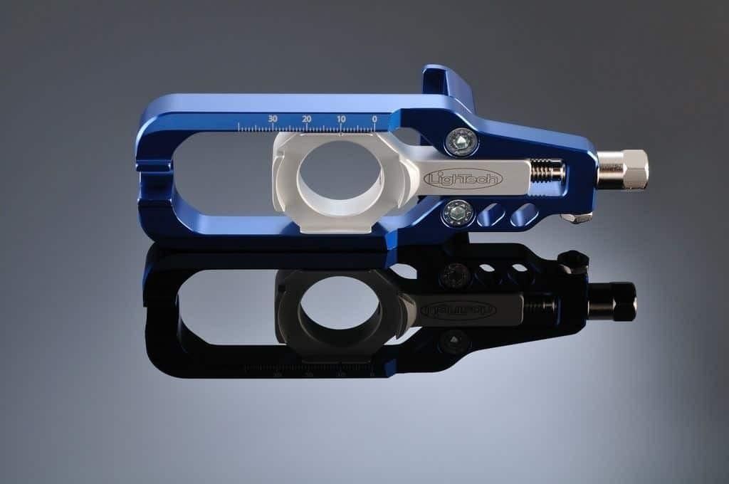 Tendeur Chaine Lightech Kawasaki ZX10R ZX6R cobalt