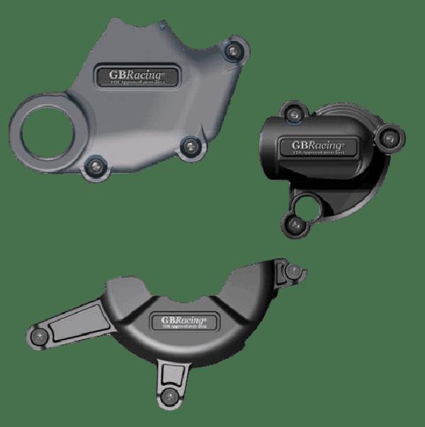 Set de Protections carter moteur GB Racing Ducati SBK 1098 /1198  Alternateur / embrayage / pompe à eau
