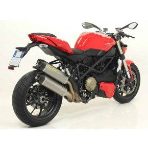 Silencieux Arrow Race Tech Ducati Streetfighter 1098