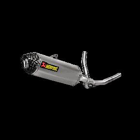 DEMI LIGNE AKRAPOVIC SUZUKI 650 V-STROM 2017 (S-S6R9-WT)
