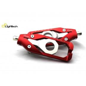 Tendeur Chaine Lightech HONDA CBR 600 1000 R RR rouge