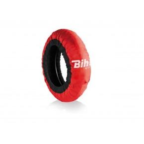 Couvertures chauffantes BIHR Home Track EVO2 autorégulée rouge pneus