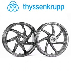 Roues carbone Thyssenkrupp  PANIGALE V4 18>21