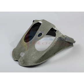 tunnel d'air carbone kevlar pour Aprilia RSV4 2015 2016 2017 2018 2019