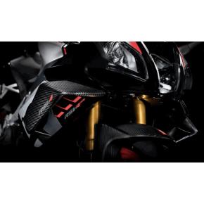 Pack Kit Aerodynamic avec Ailerons et Prise d'air Carbone pour Aprilia RSV4