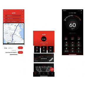 MODULE APRILIA MIA SMARTPHONE RS 660 / TUONO 660 (607100M)