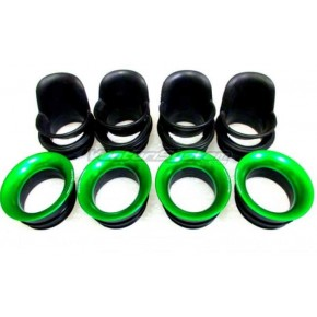 KIT CORNETS D'ADMISSION RACING KAWASAKI ZX6R 2009>2017