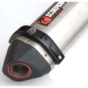 Protection de silencieux R&G RACING noir Scorpion Red Power/Serket
