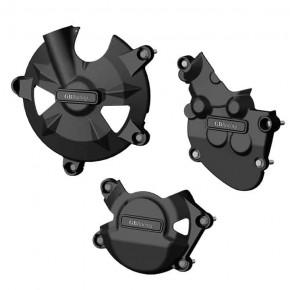 Set de Protections carter moteur GB Racing pour KAWASAKI ZX-10R 2008>2010