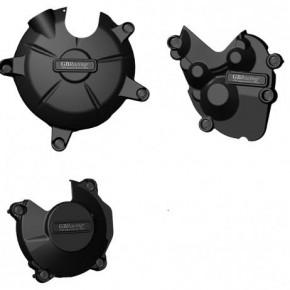 Set de Protections carter moteur GB Racing pour KAWASAKI ZX-6R  2009>2012