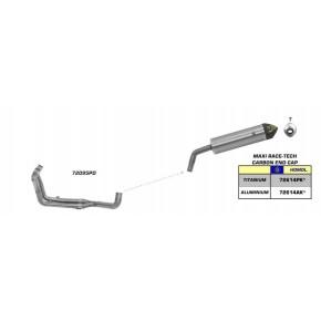 LIGNE COMPLETE ARROW 1200 XTZ SUPER TENERE 10-18