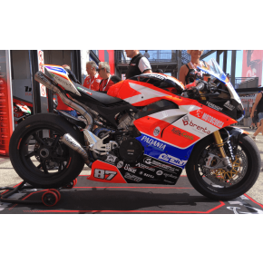DEMI-LIGNE TITANE FM-PROJECTS PANIGALE V4