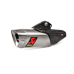 FLASQUE DE PROTECTION CARBONE AKRAPOVIC (P-HSY10L2)