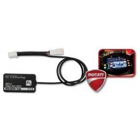 Chrono GPS PZ-Racing pour Ducati Panigale 899-959-1199-1299 (PA600)