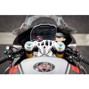Té de fourche supérieur Melotti Racing pour Aprilia RSV4