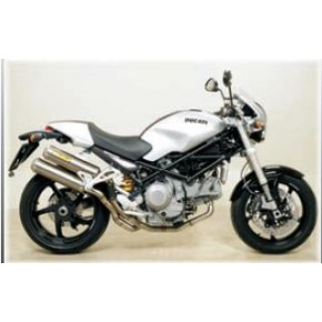 Arrow Round Sil Ducati Monster S2R 1000