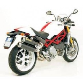Silencieux Arrow Round Sil Ducati Monster S4R S4RS testa stretta
