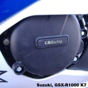 Set de Protections carter moteur GB Racing SUZUKI GSX-R 1000 K5>K8