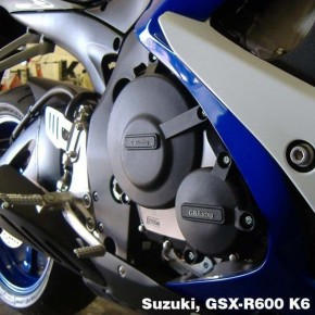 Set de Protections carter moteur GB Racing SUZUKI GSX-R 600 / 750 K6>L6