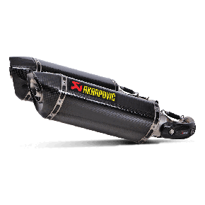 SILENCIEUX CARBONE AKRAPOVIC MONSTER 696-796-1100 (S-D10SO7-HZC)