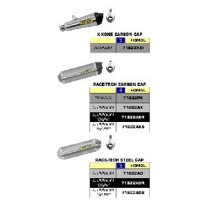 SILENCIEUX ARROW POUR GSX 1250 BANDIT / GSF 1250 BANDIT