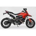 Echappement Zard carbone Ducati HYP 821